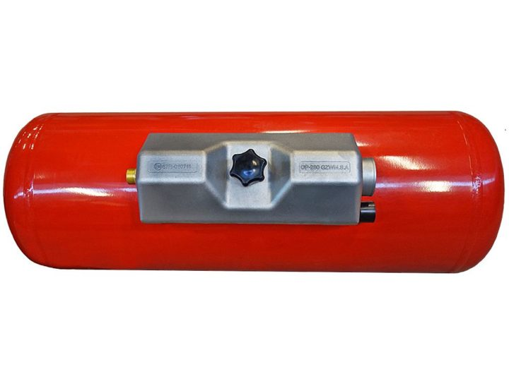 Wohnmobil Gastank Campinggastank Brenngastank 20 Liter 200X717 mm