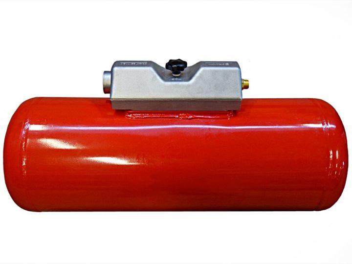 Wohnmobil Gastank Campinggastank Brenngastank 120 Liter 360 X 1298 mm