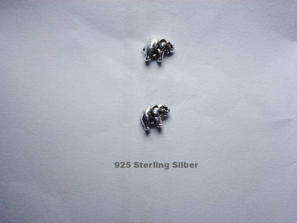 cd50312cc5d9 Ohrstecker Elefant echt 925 Silber Kinder Damen Geschenidee