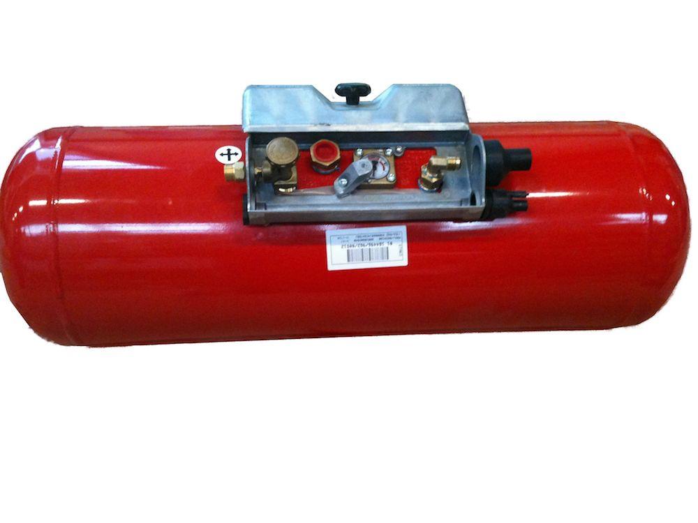 Wohnmobil Gastank Campinggastank Brenngastank 23 Liter 230 x 630mm